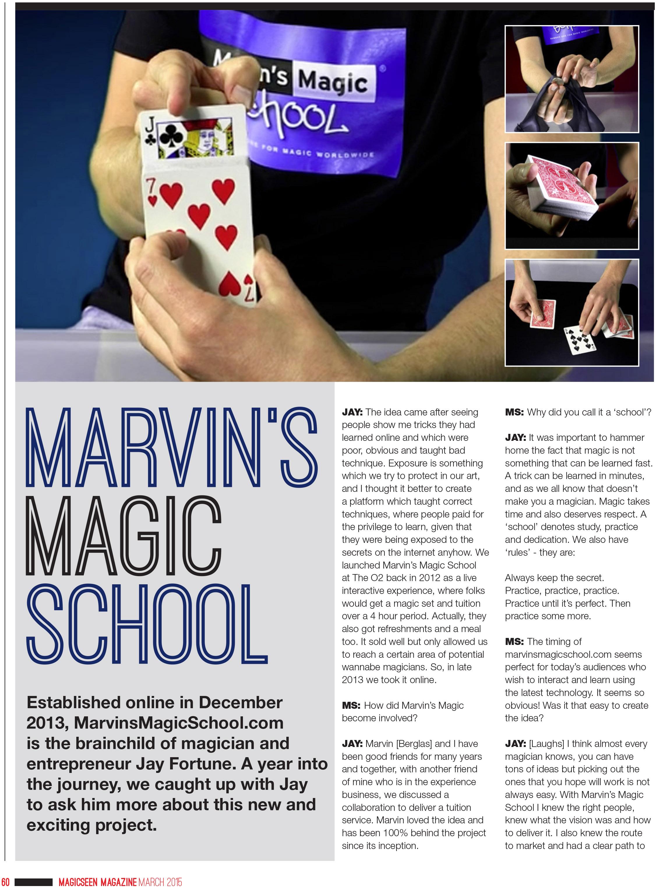 Marvins Magic School Iss 61-1